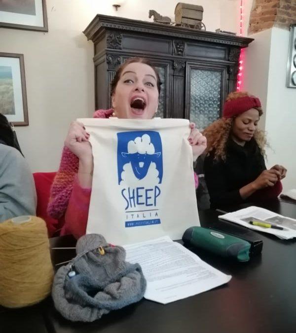 Sono arrivate le borse di tela di SHEEP e sono figherrime!