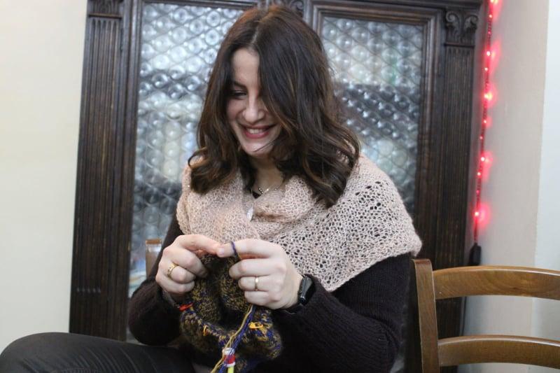 Barbara Santarelli è una delle nostre volontarie della lana.