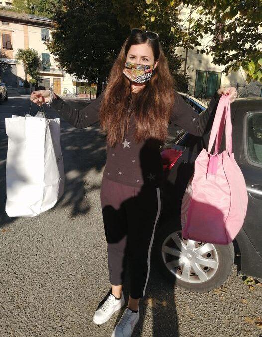 Martina e i suoi sacchetti di lana