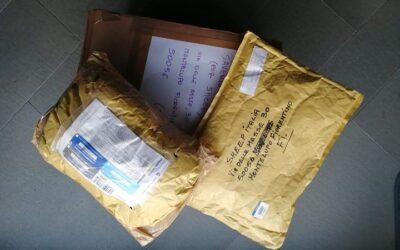 Primi pacchi arrivati :)