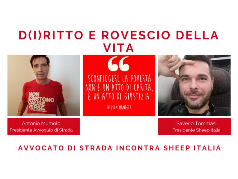 Avvocato di strada incontra Sheep Italia